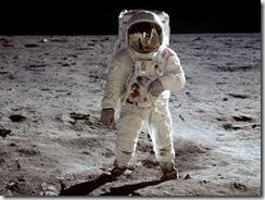 Buzz on moon